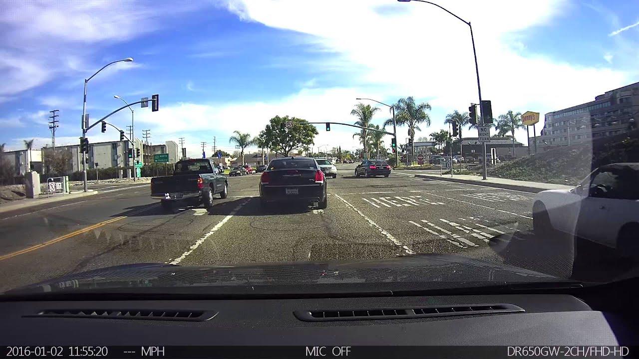 Red Light Runner Accident #CaughtOnBlackVue