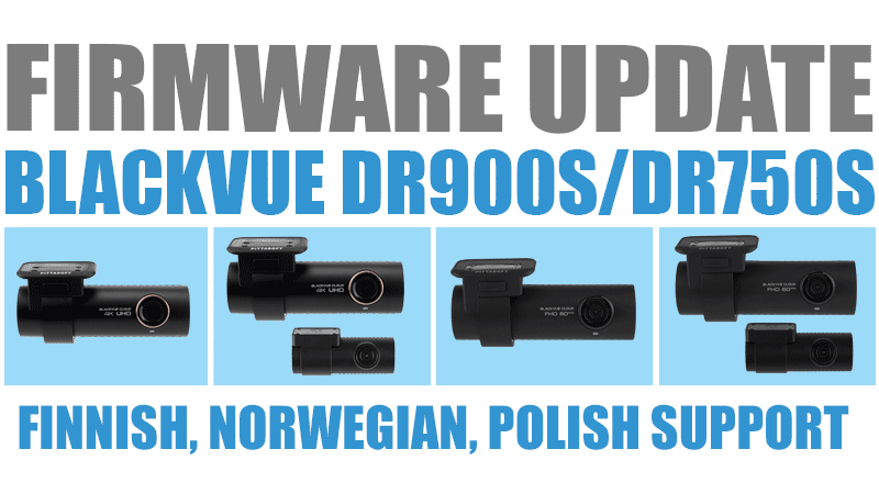 [Firmware Update] DR900S (1.010), DR750S (1.015) with Finnish, Norwegian, Polish Support