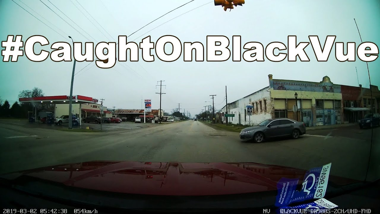 Driver Fails To Yield, Causes Accident #CaughtOnBlackVue