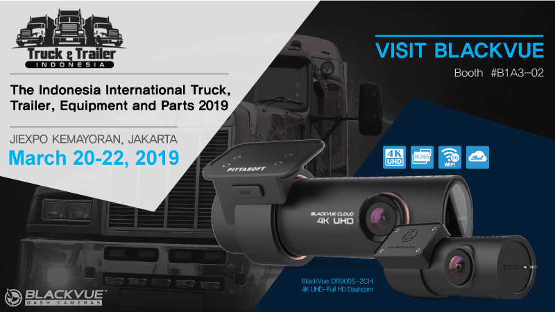 Visit BlackVue At Indonesia International Truck & Trailer Show 2019