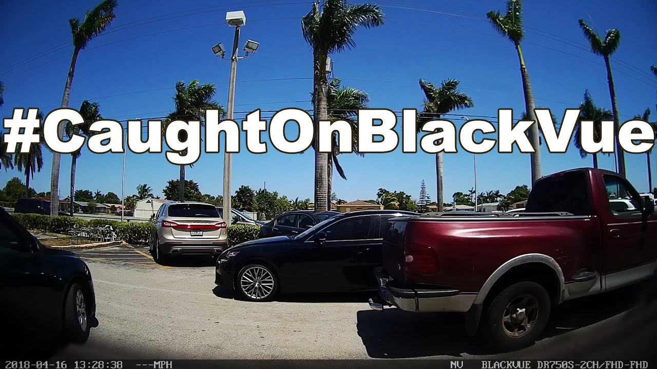 BlackVue Dashcam Captures Accident In Parking Lot