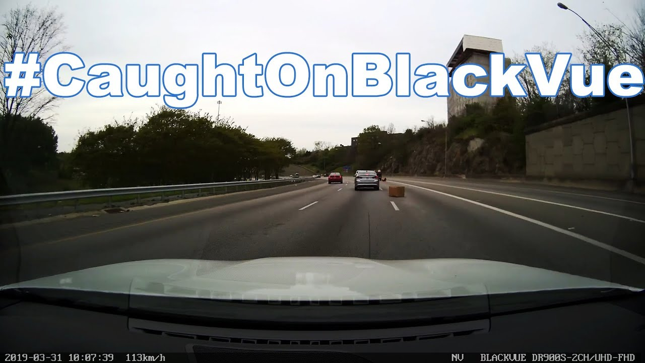 Attack of the Highway Boxes #CaughtOnBlackVue