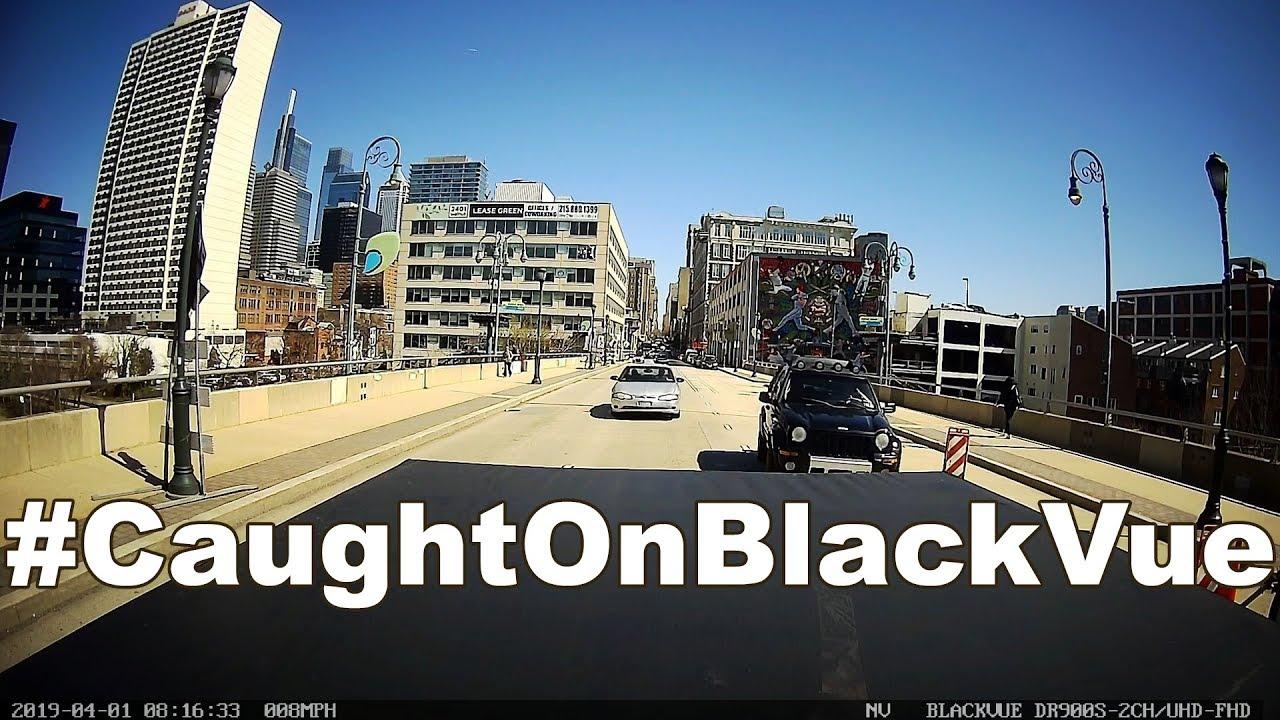 Ram Truck Gets Rear-Ended #CaughtOnBlackVue