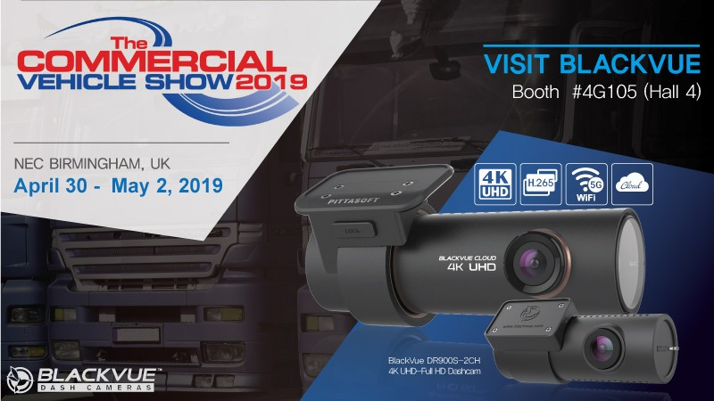 BlackVue At The Commercial Vehicle Show In Birmingham, UK