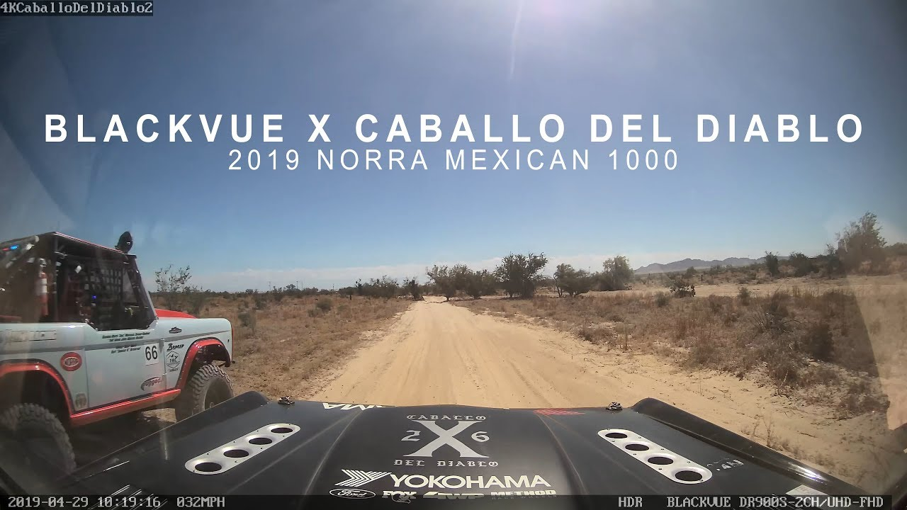 BlackVue At 2019 NORRA Mexican 1000 – Caballo Del Diablo Sponsorship