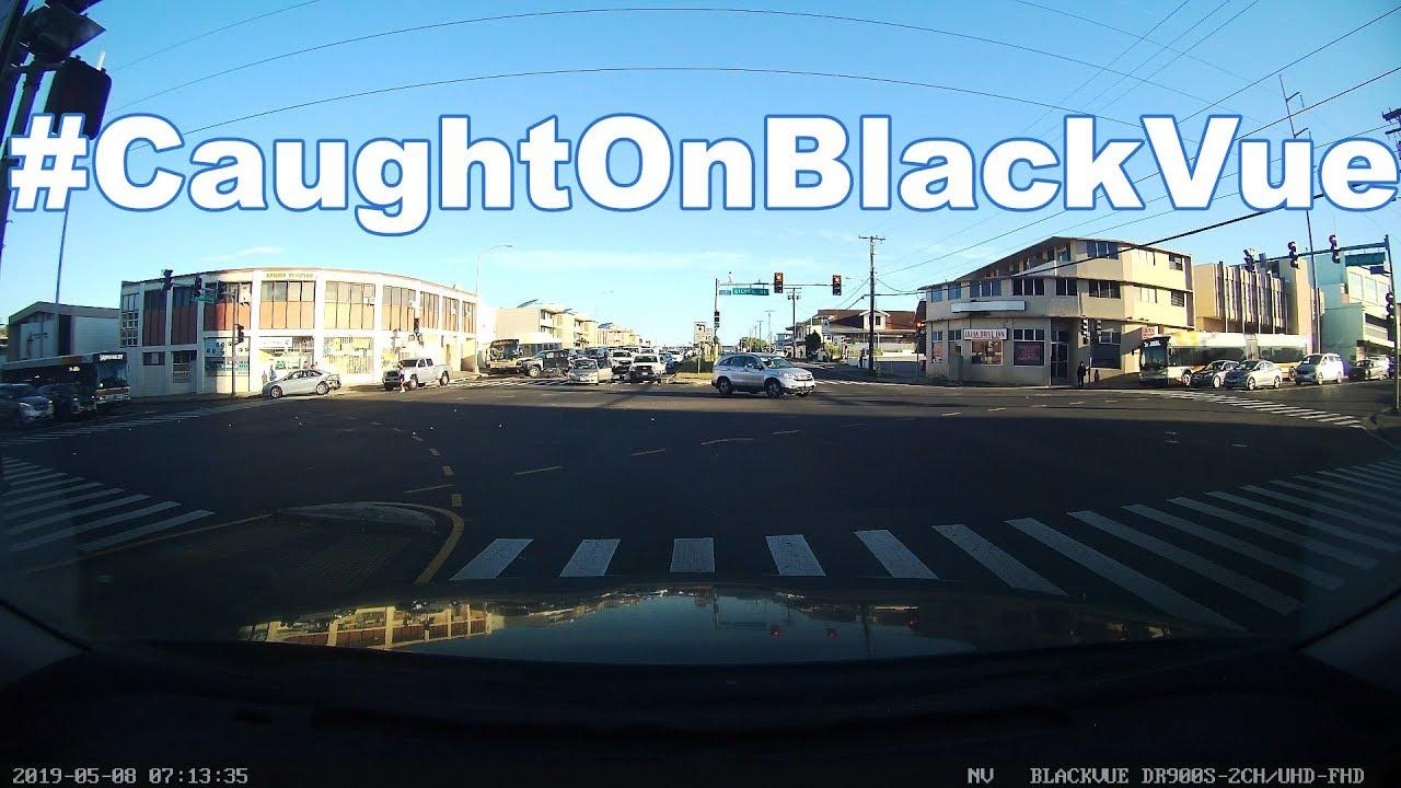 Truck Thieves Flee The Accident Scene #CaughtOnBlackVue