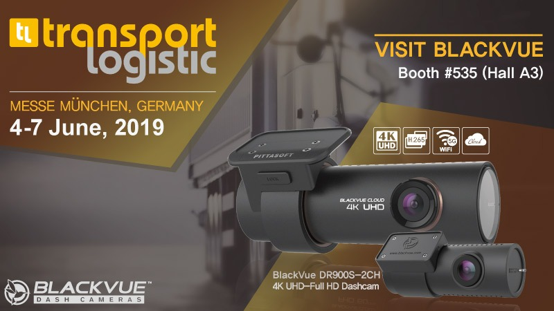 Meet BlackVue at Transport Logistic 2019 In Munich, Germany