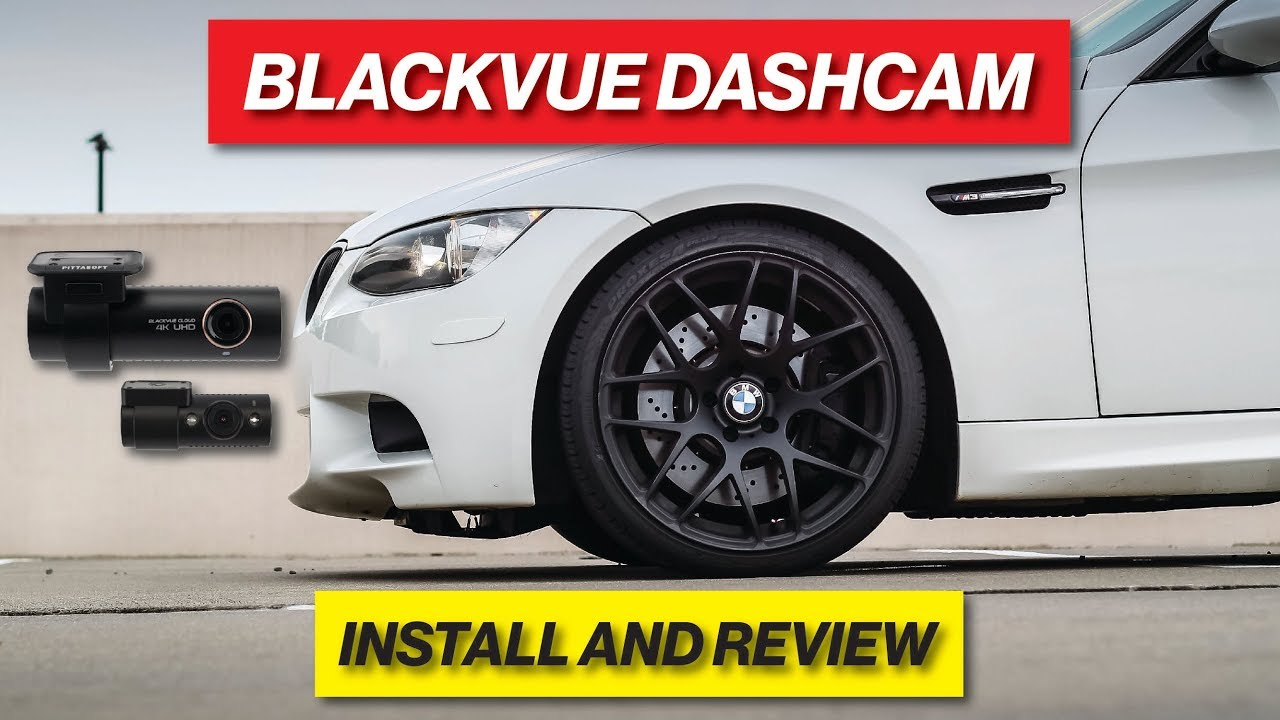 BlackVue DR900S-2CH And Ultra Battery B-124X Install In BMW F30