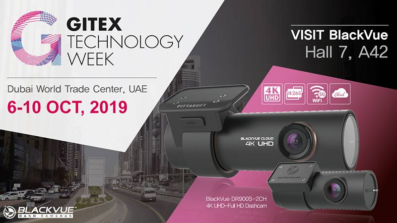 Visit BlackVue At 2019 GITEX In Dubai