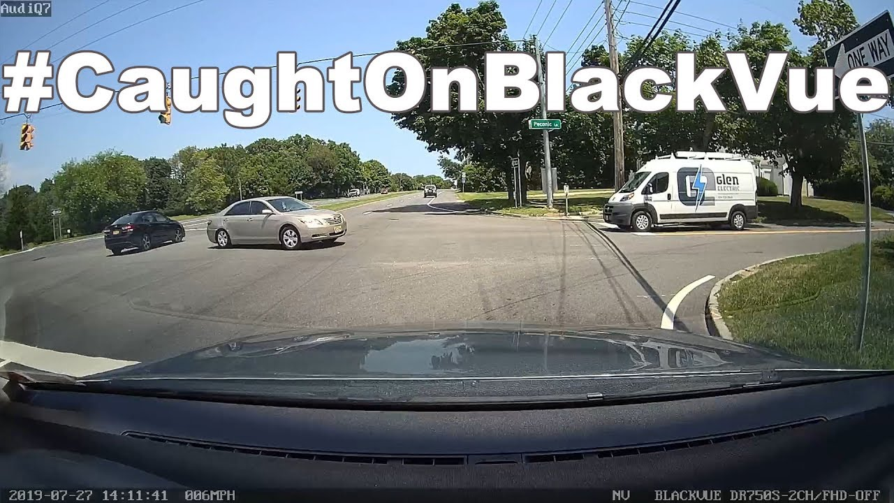 So Close! Compilation of Near Misses #CaughtOnBlackVue
