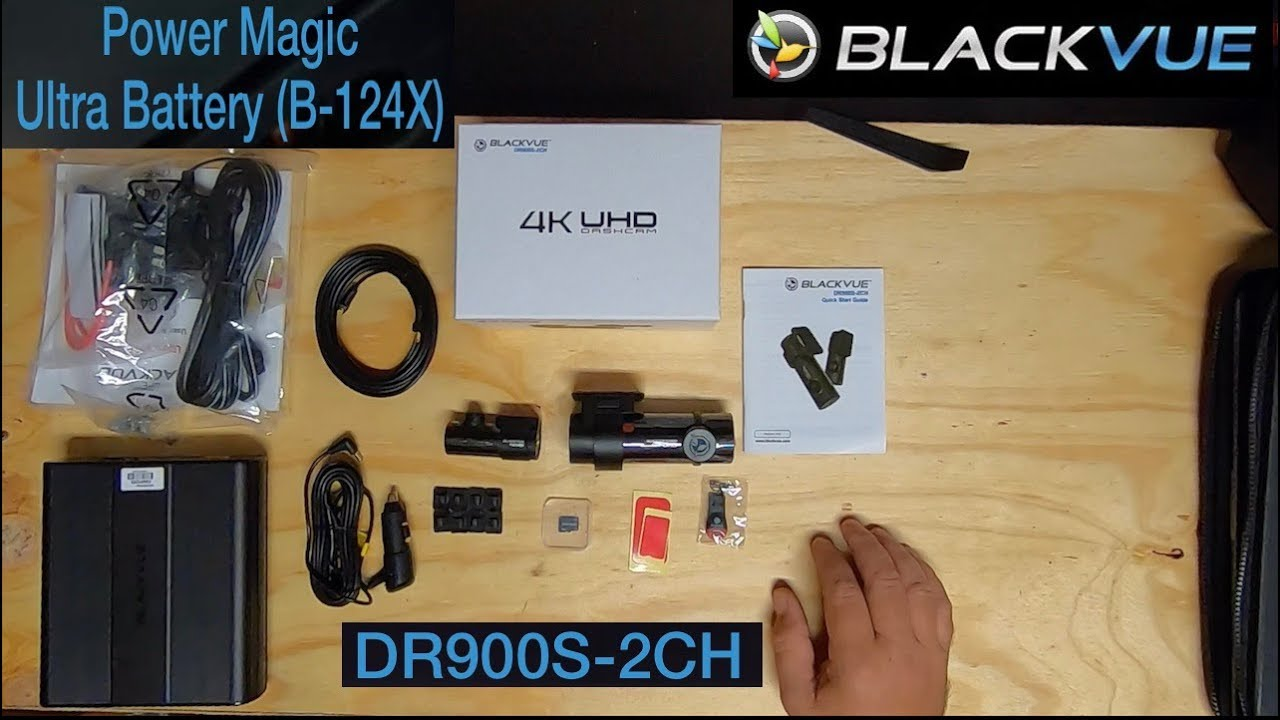 DR900S-2CH 4K & Power Magic Ultra Battery B-124X Install & Review