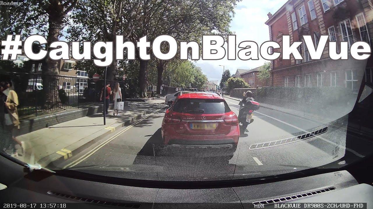 Serious Motorbike Crash Next To A Hospital #CaughtOnBlackVue