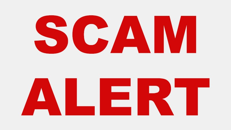 Scam Alert – Buy Only From Authorized Sellers