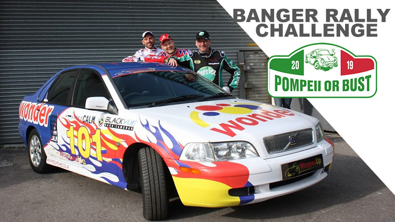 BlackVue Partners Up With 2019 Banger Rally Challenge Participants