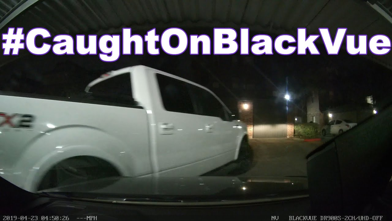 Neighborly hit & run #CaughtOnBlackVue