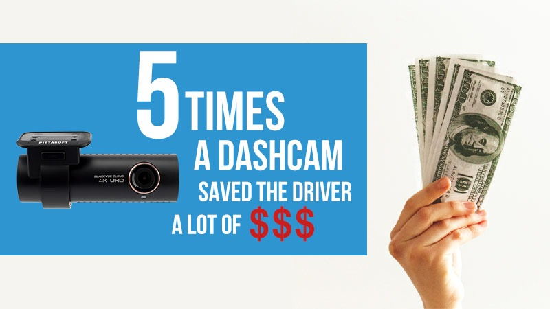 5 Times BlackVue Dashcam Saved the Driver a Lot of Money