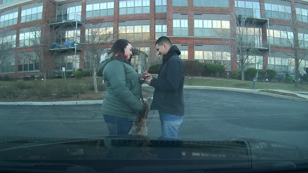 The Magic Of Proposal #CaughtOnBlackVue