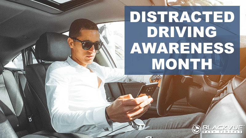 Distracted Driving Awareness Month – Accidents #CaughtOnBlackVue Caused By Distracted Driving