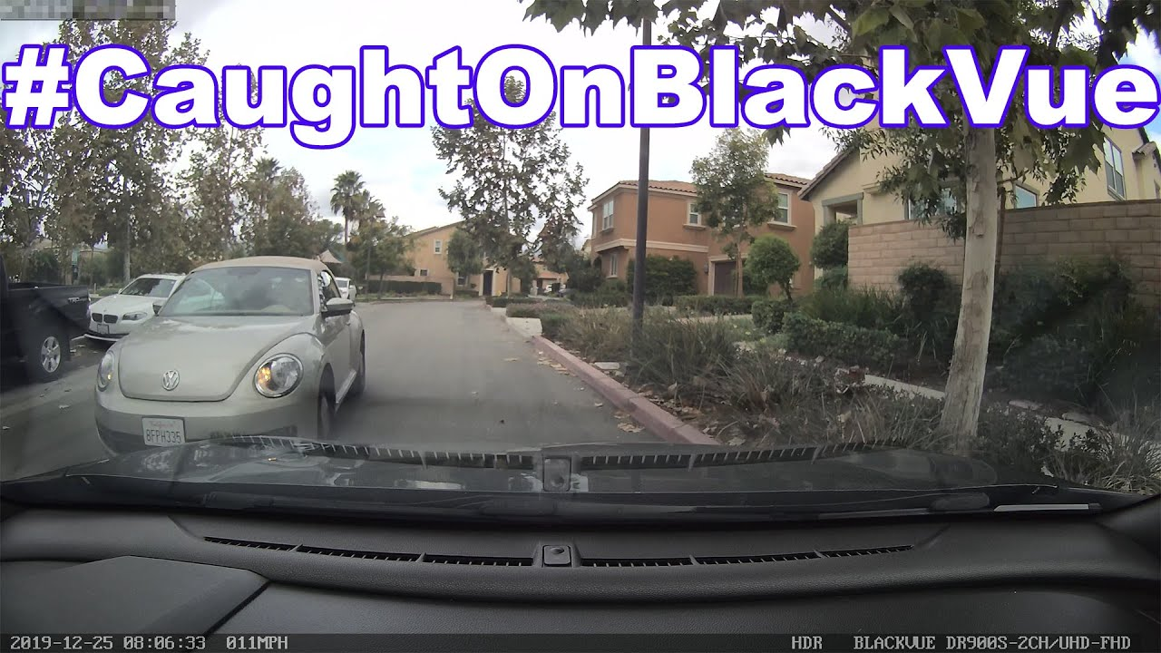 There Was Enough Room! Side-swipe #CaughtOnBlackVue