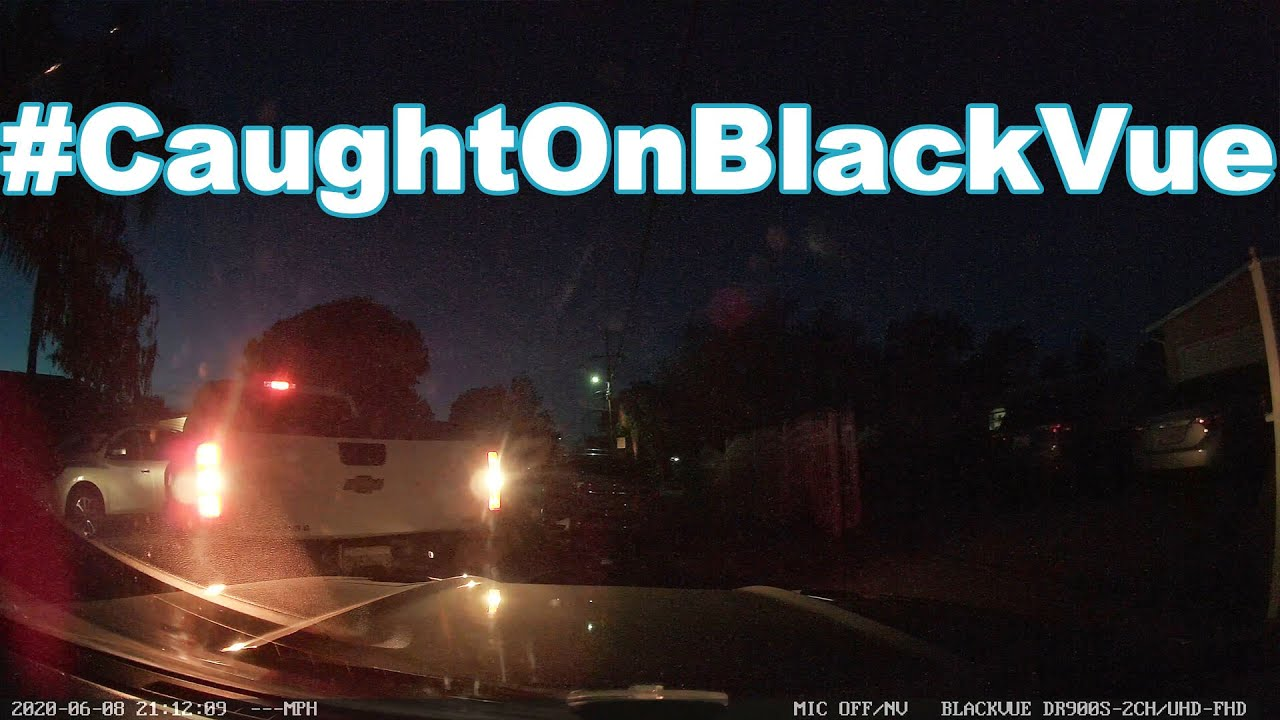 Hit & Runner Turns Out To Be Neighbor… #CaughtOnBlackVue