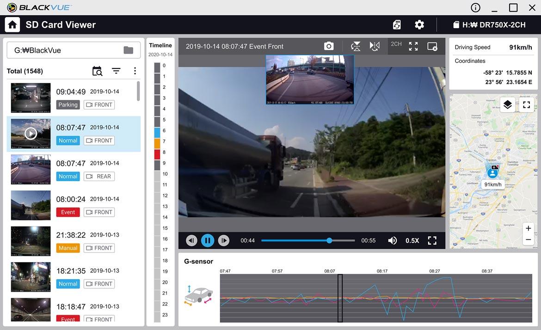 BlackVue SD Card Viewer