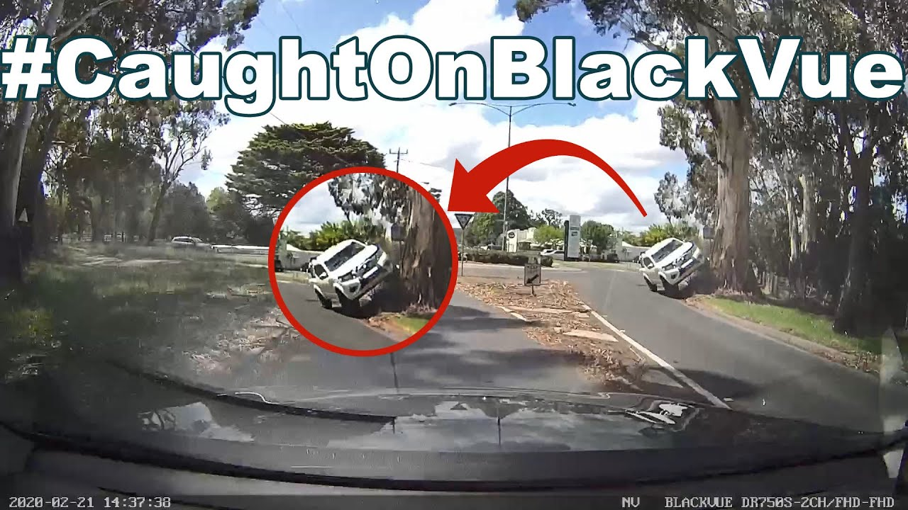 4WD Running up a TREE… #CaughtOnBlackVue