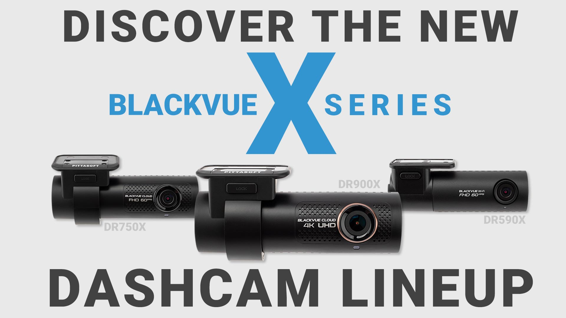 BlackVue X Series Dashcams Available Now