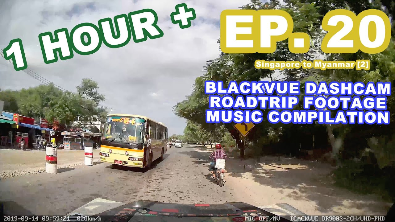 Chill Out With BlackVue – Episode 20 (1-hour BlackVue Footage Music Video)