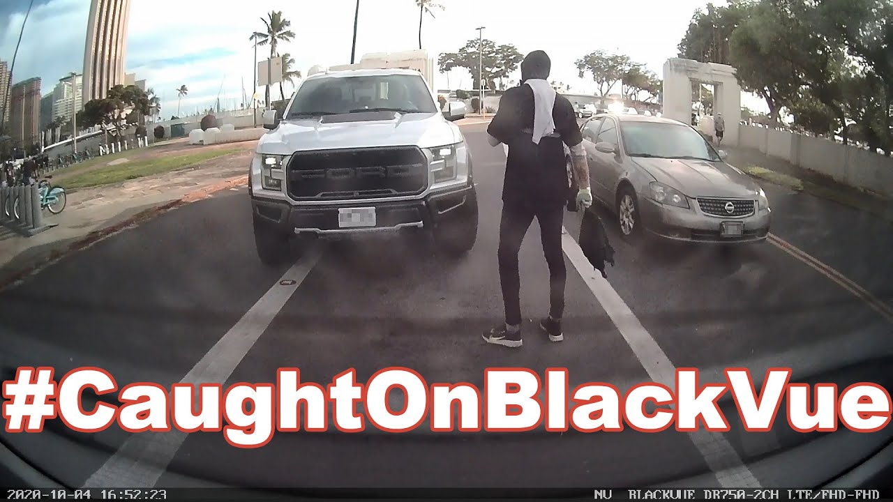 How NOT To Behave On The Road #CaughtOnBlackVue