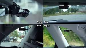 4 Channel Dashcam Setup: 360 Degree Recording