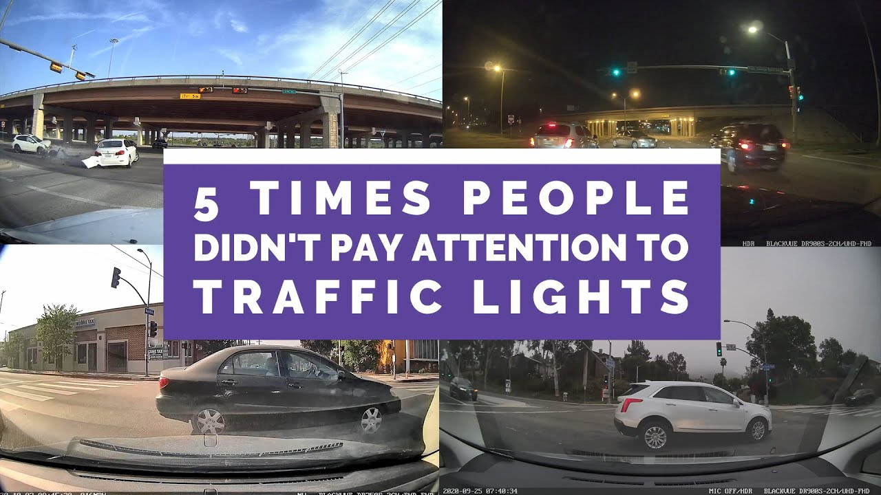 5 Times Traffic Lights Were IGNORED And It (Almost) Ended BADLY #CaughtOnBlackVue