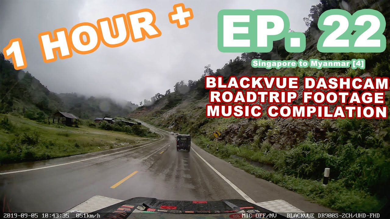 Chill Out With BlackVue – Episode 22 (1-hour BlackVue Footage Music Video)