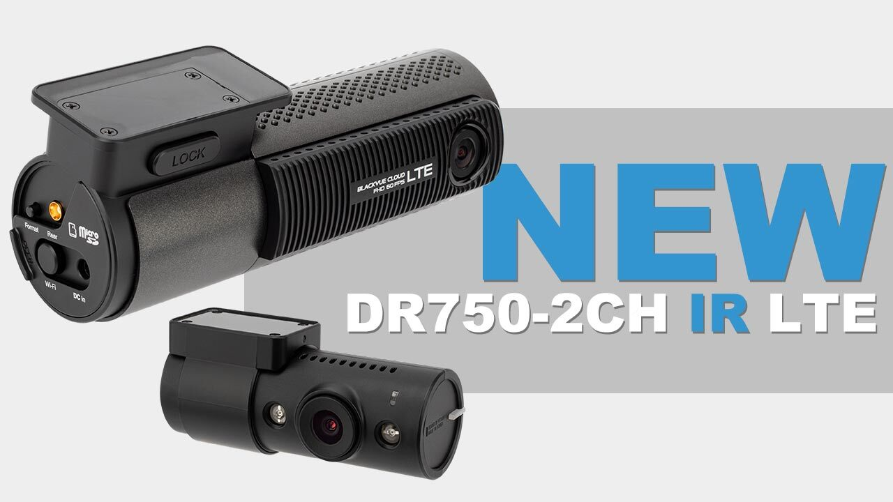 LTE Taxi Dashcam DR750-2CH IR LTE Now Available