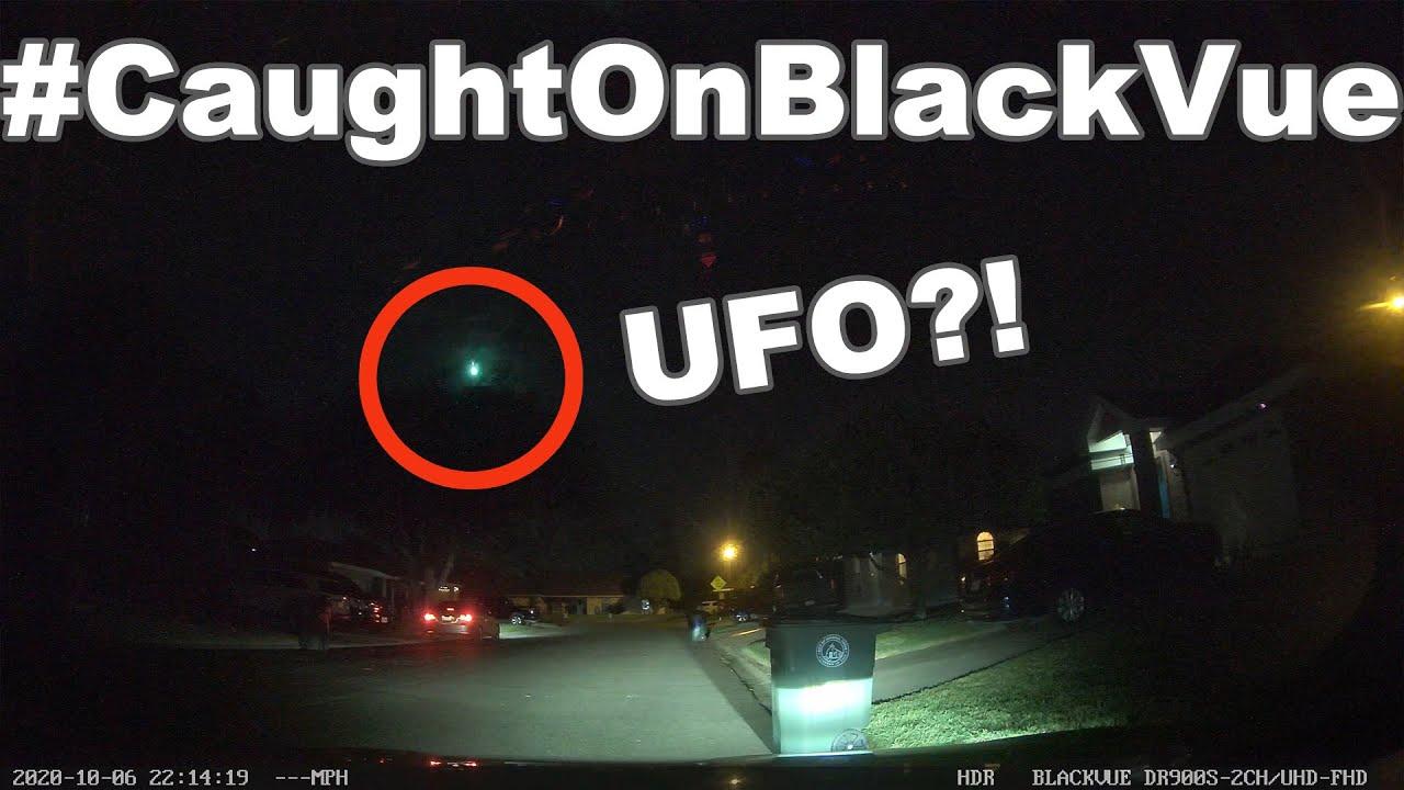 A Green Meteor Shooting Through The Sky #CaughtOnBlackVue