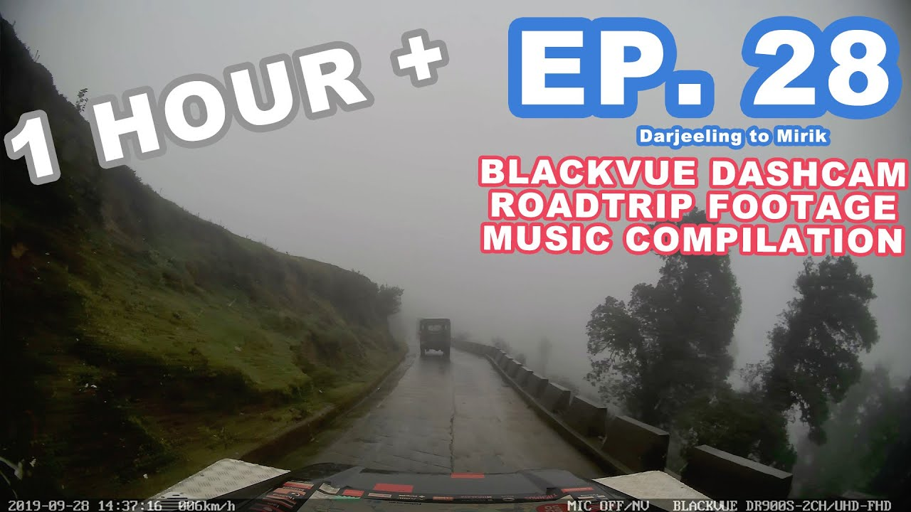 Chill Out With BlackVue – Episode 28 (1-hour BlackVue Footage Music Video)