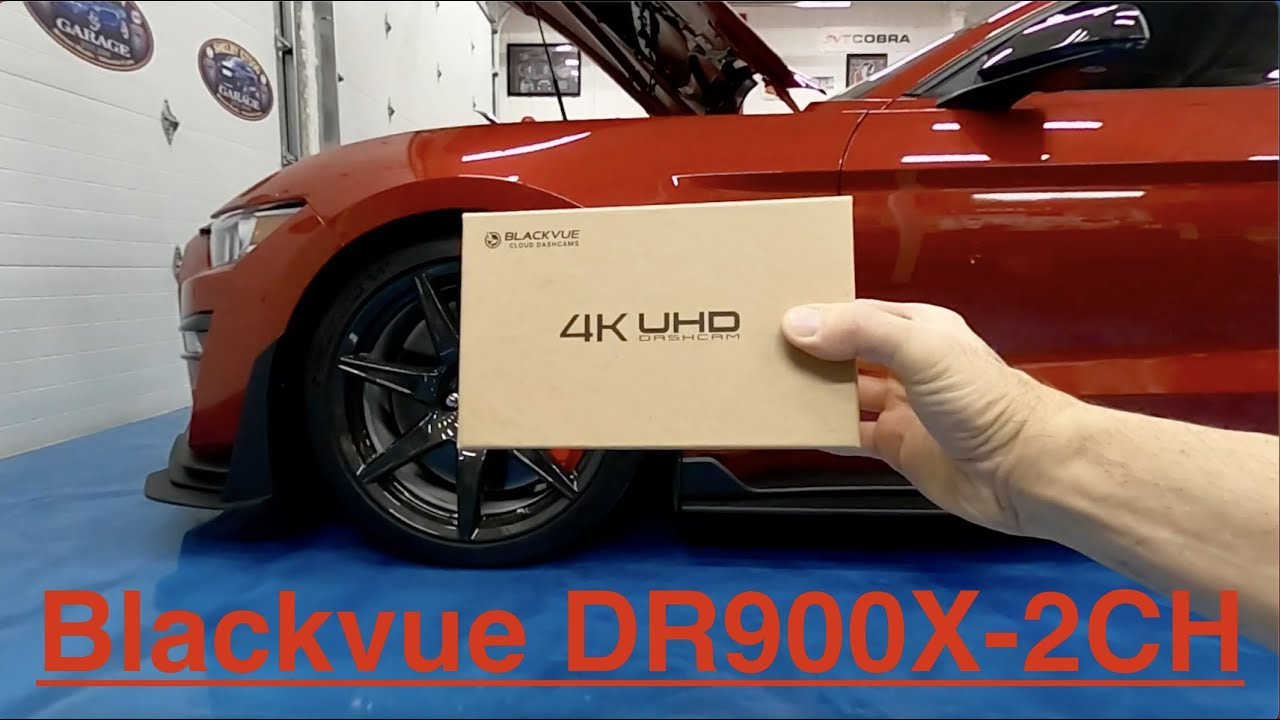 BlackVue DR900X-2CH Dashcam – Mustang Installation & Detailed Review