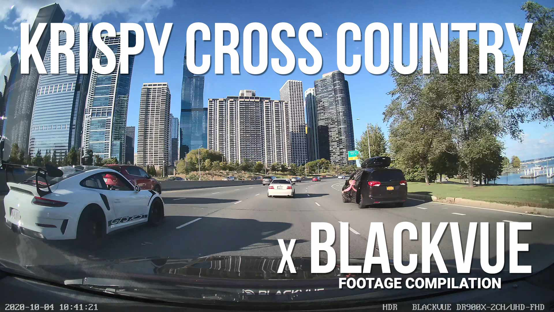KRISPY CROSS COUNTRY 2020 X BLACKVUE – BlackVue Dashcam Footage Compilation