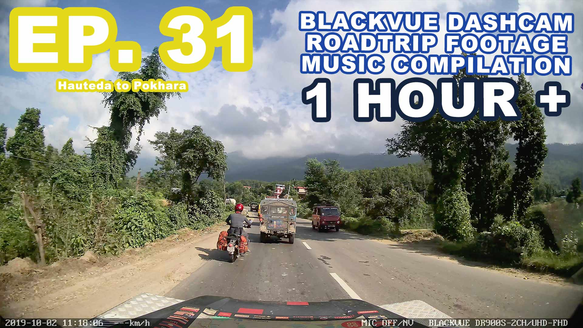 Chill Out With BlackVue – Episode 31 (1-hour BlackVue Footage Music Video)