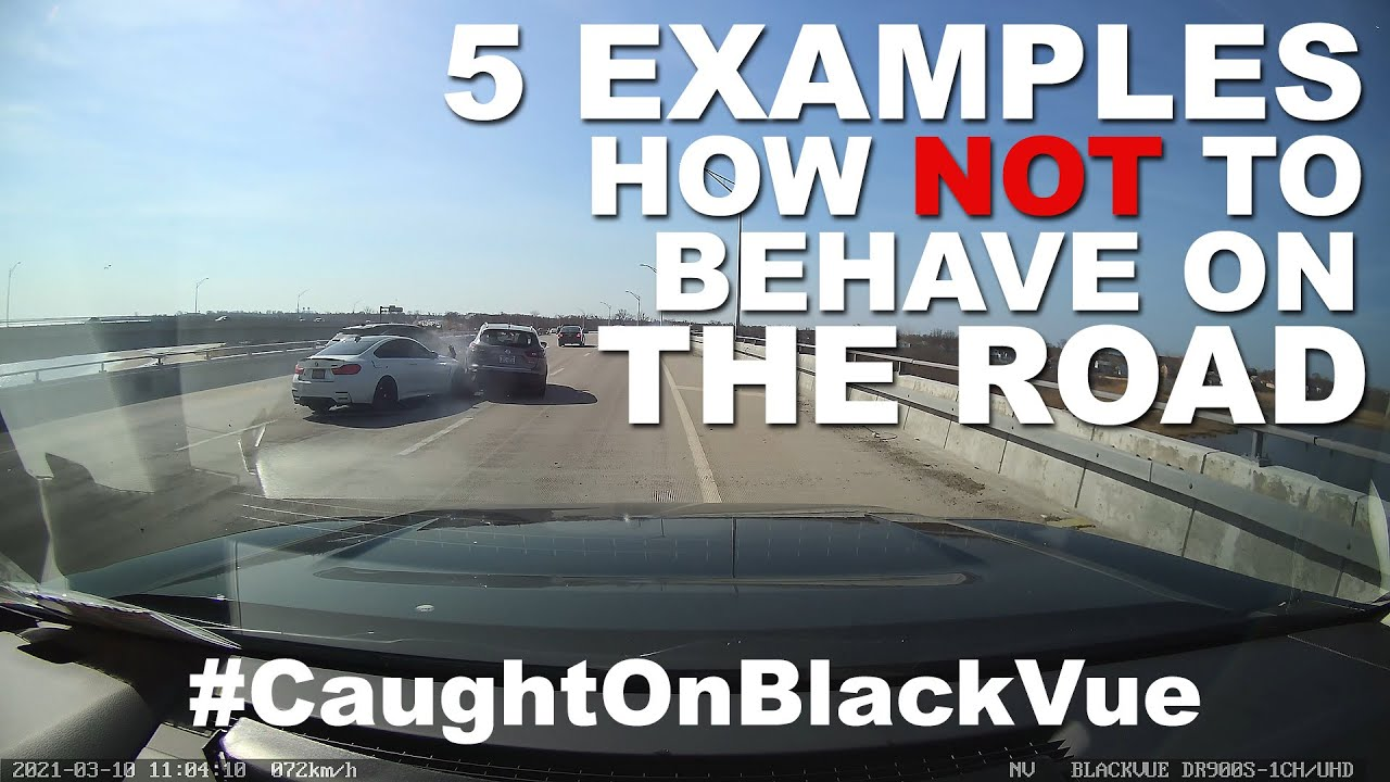 5 Outrageous Examples of How NOT to Drive #CaughtOnBlackVue