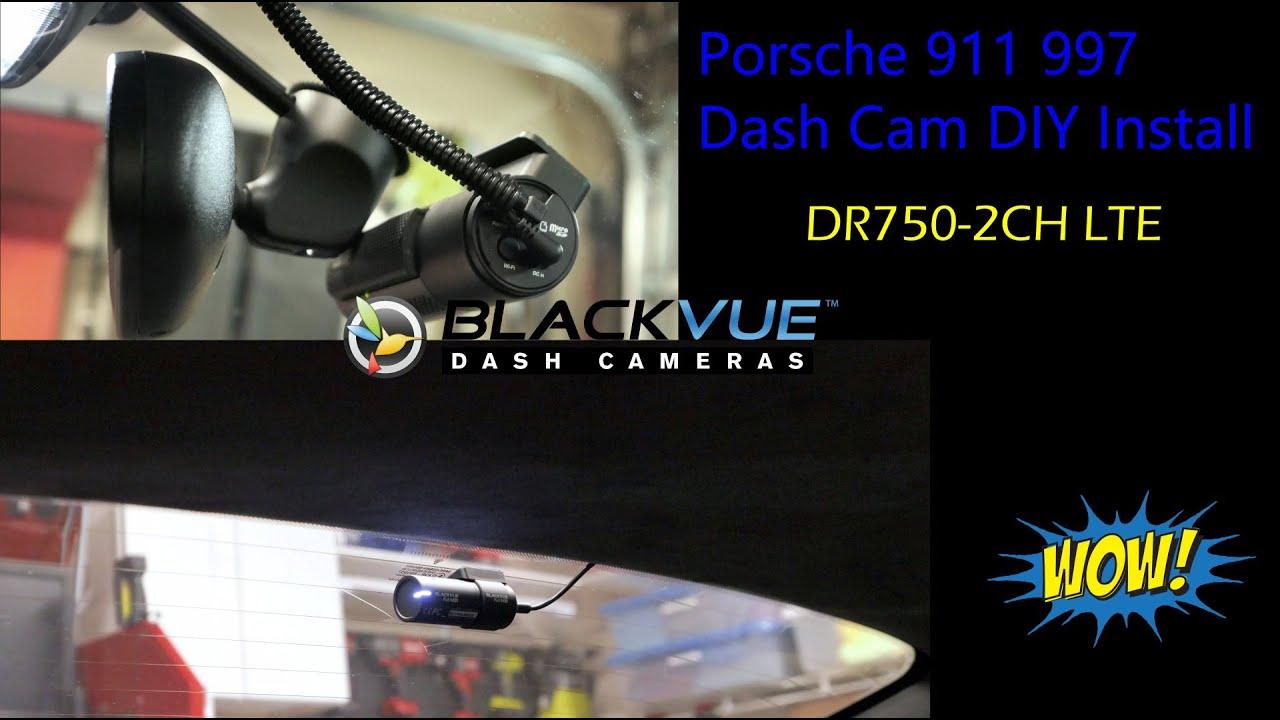 BlackVue DR750-2CH LTE Installation Video In Porsche 911