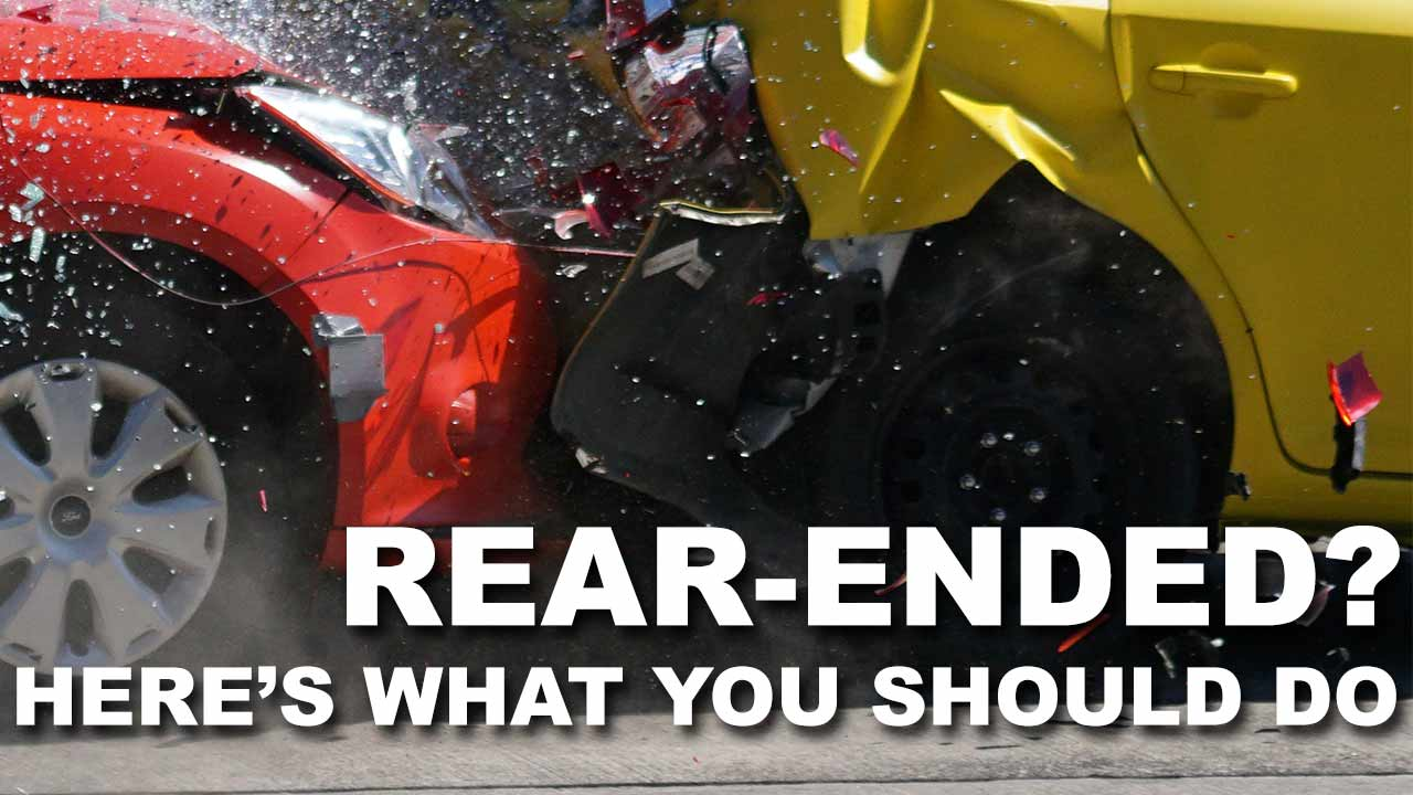 What to Do When Your Car is Rear-Ended