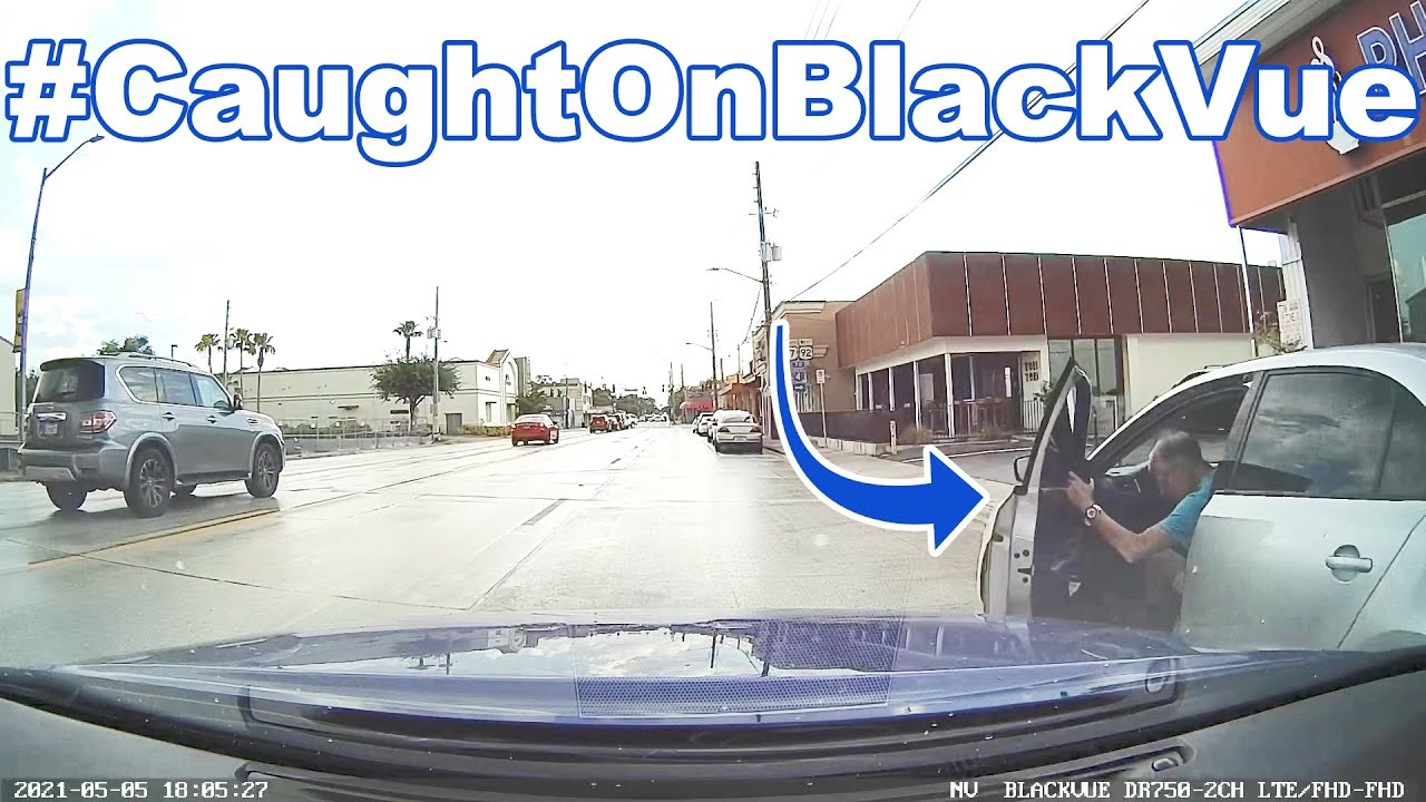 "BlackVue Saves Owner $5,000 in ""Dooring"" Accident #CaughtOnBlackVue"