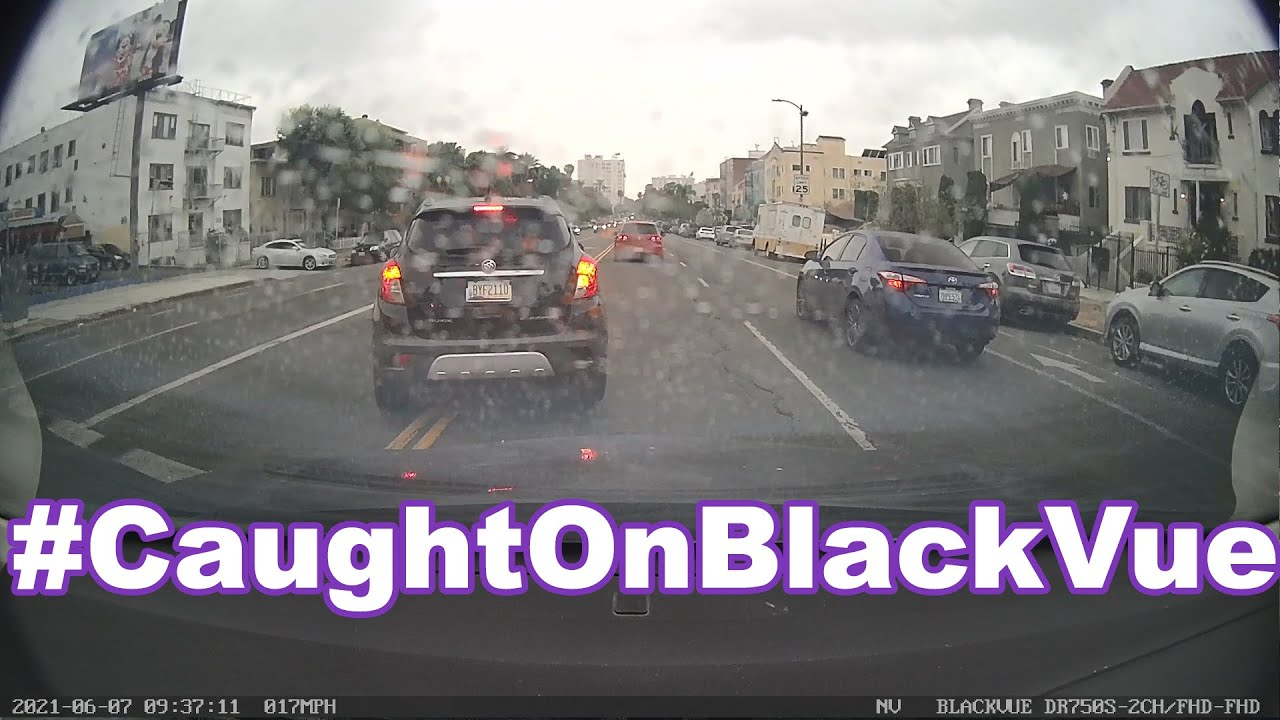 One Video. One Driver. A LOT of Traffic Violations #CaughtOnBlackVue