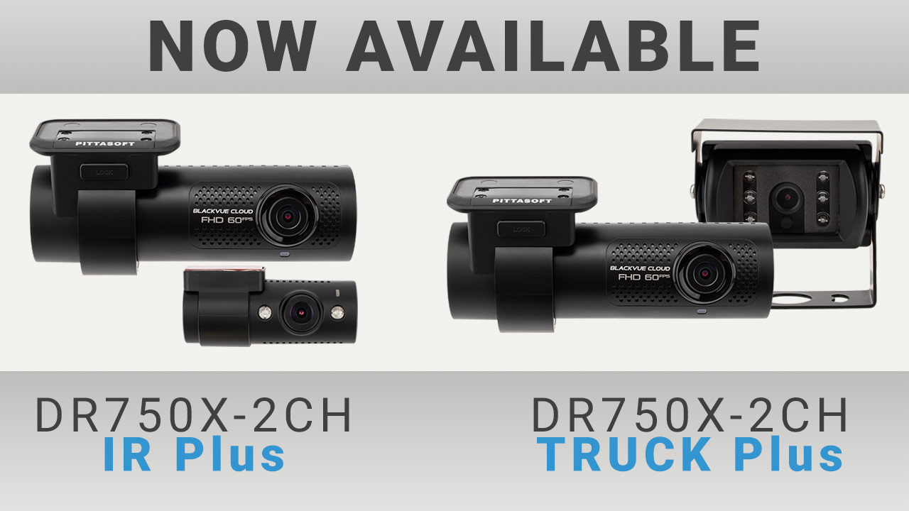 DR750X-2CH IR Plus and DR750X-2CH TRUCK Plus Available Now