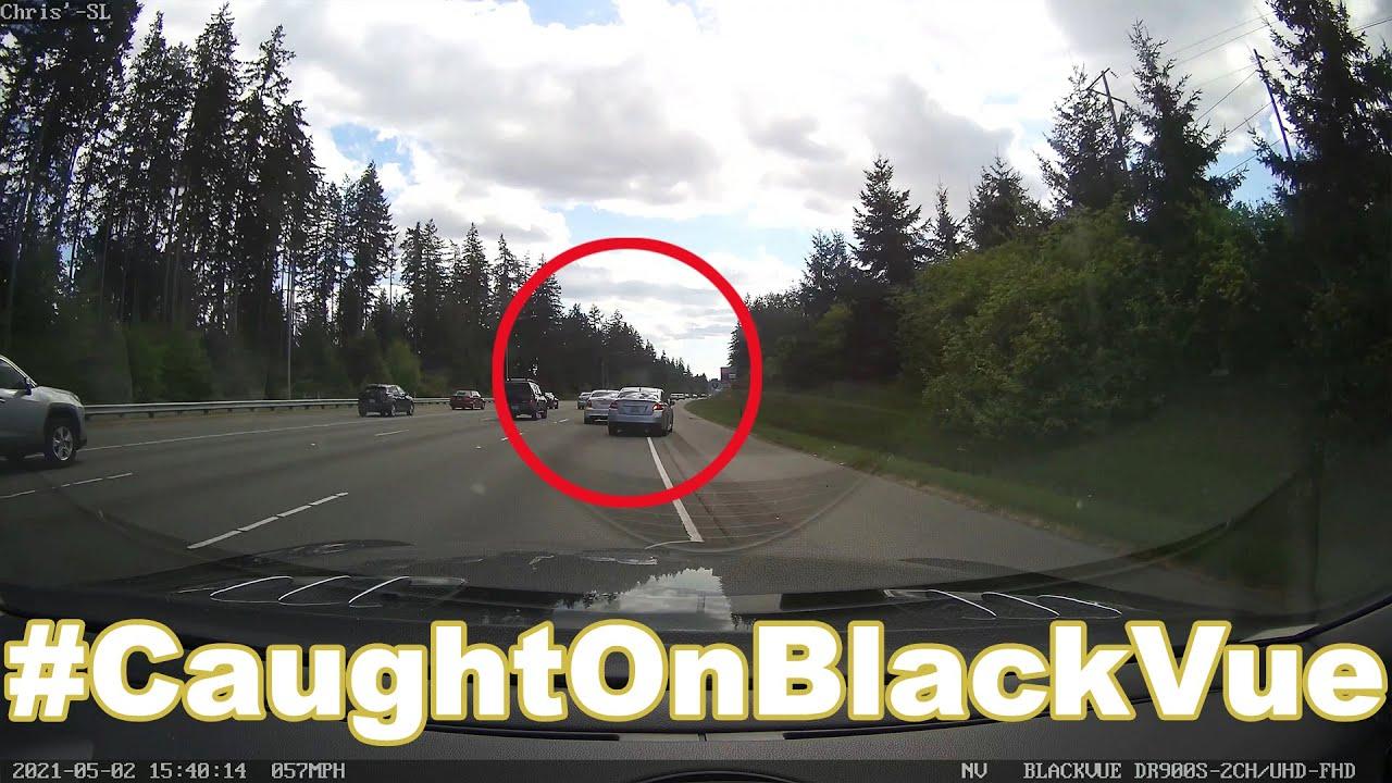 Dangerous Overtaking On a Highway #CaughtOnBlackVue