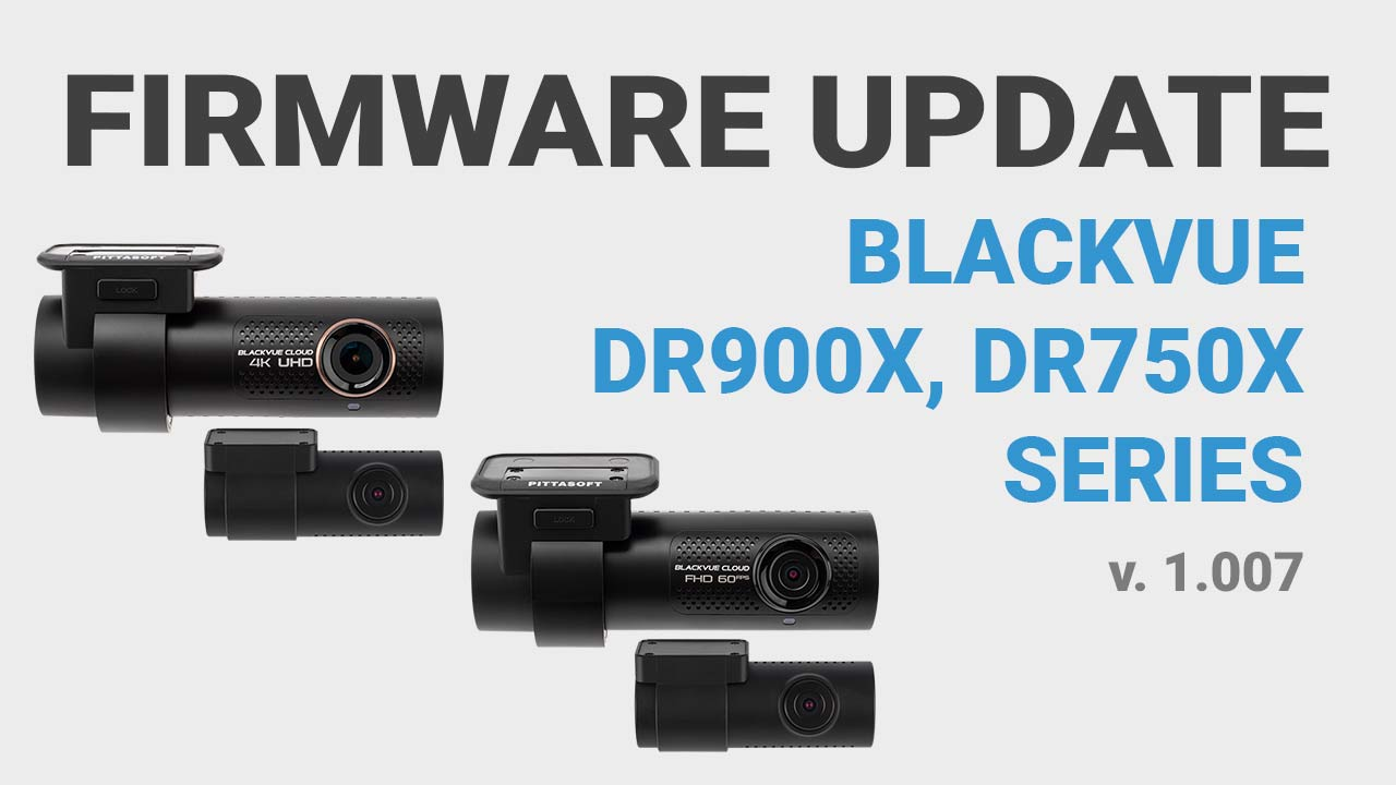 [Firmware Update] Improved Parking Mode Notifications for DR900X and DR750X