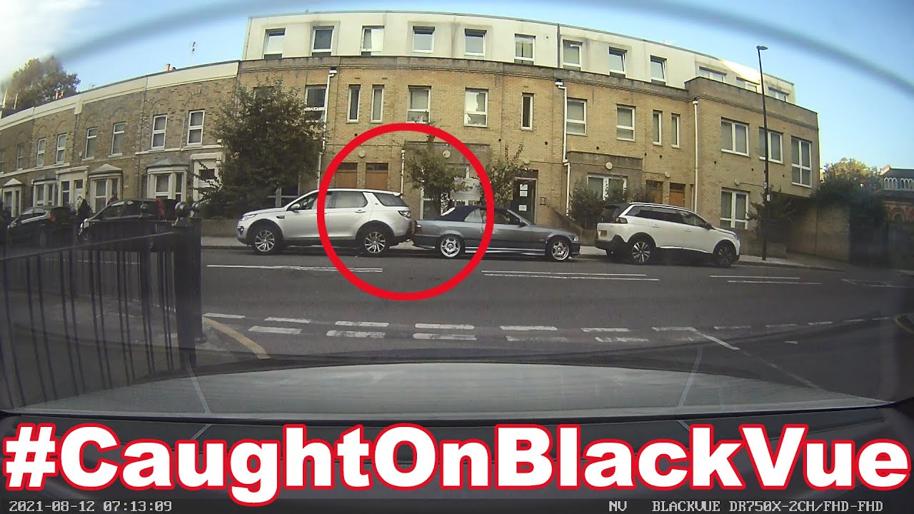 Backed Up Right Into A Parked Car #CaughtOnBlackVue