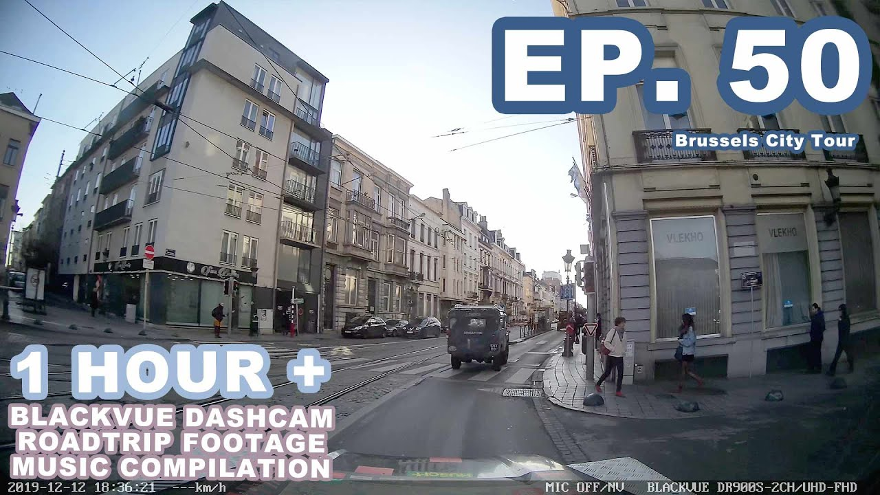 Chill Out With BlackVue – Episode 50 (1-hour BlackVue Footage Music Video)