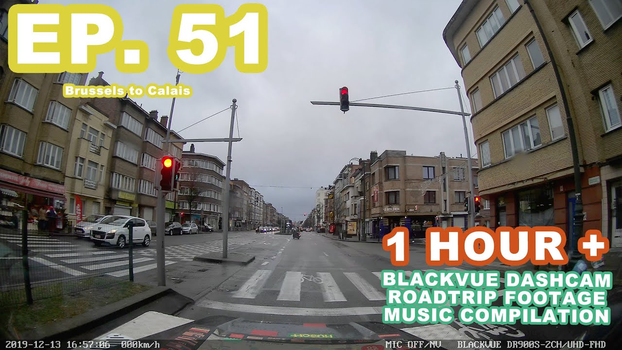 Chill Out With BlackVue – Episode 51 (1-hour BlackVue Footage Music Video)