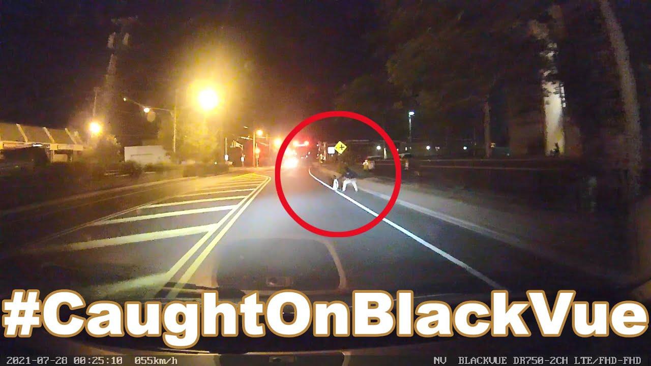 Toddler Runs Into The Street #CaughtOnBlackvue